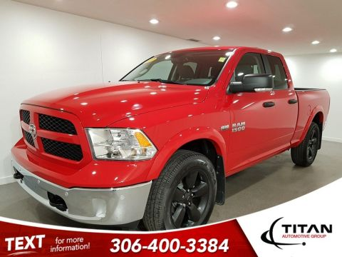 Pre-Owned 2017 Ram 1500 Outdoorsman 4x4 CAM Bluetooth Alloys