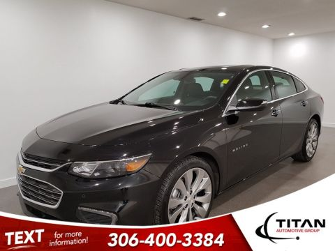 Pre-Owned 2017 Chevrolet Malibu Local Premier Turbo Leather CAM NAV