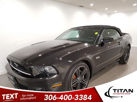 Pre-Owned 2013 Ford Mustang Local V8 Leather Htd Seats Bluetooth Alloys