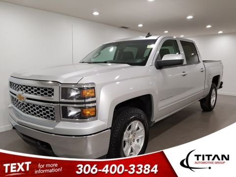 Pre-Owned 2015 Chevrolet Silverado 1500 LT V8 4x4 Htd Mirrors Alloys Bluetooth