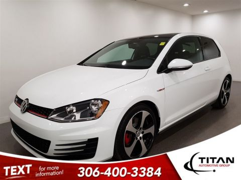 Pre-Owned 2015 Volkswagen GTI Bluetooth Sunroof Htdseats Alloys
