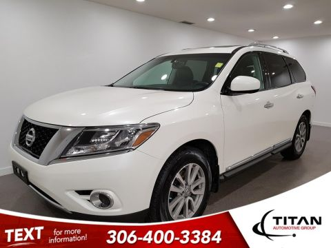 Pre-Owned 2016 Nissan Pathfinder SL 4x4 CAM NAV Leather Alloys