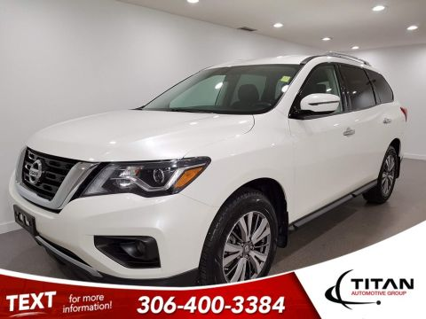 Pre-Owned 2018 Nissan Pathfinder SV 4x4 CAM NAV Bluetooth