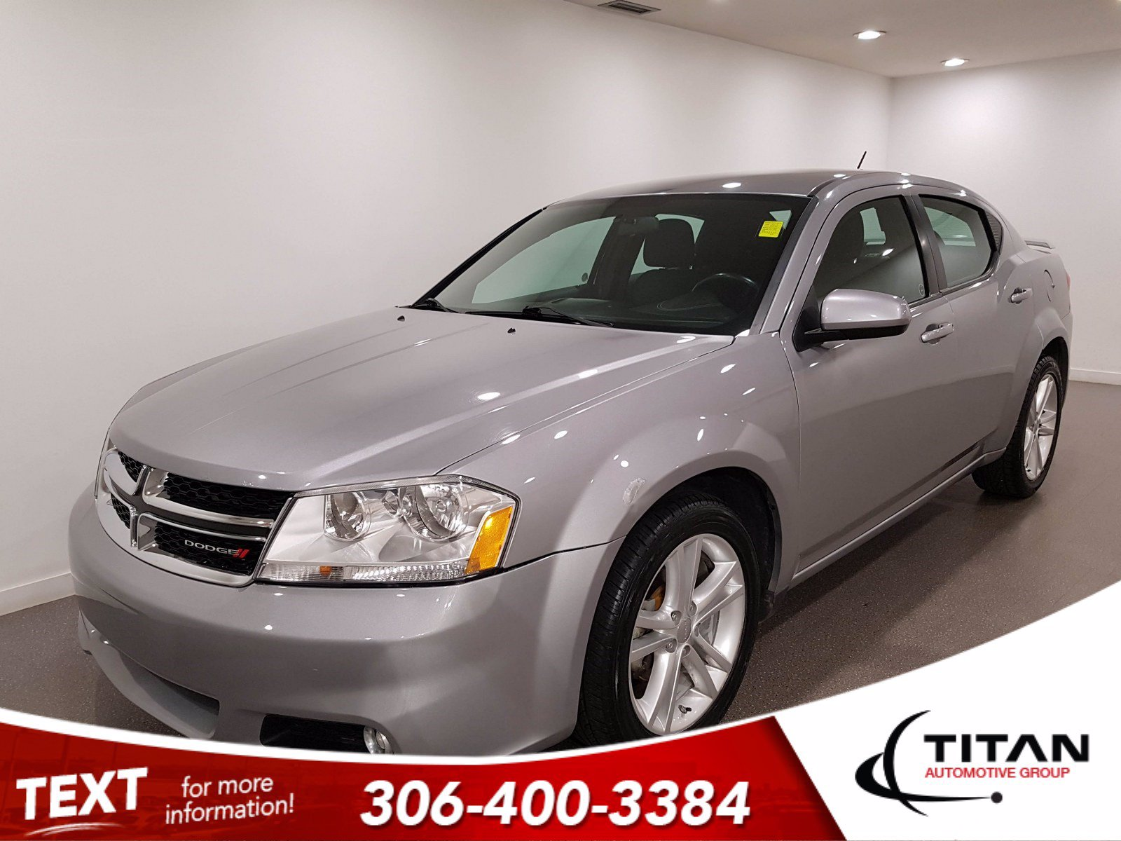 Pre-Owned 2014 Dodge Avenger SXT | Heated Seats | Rims | Spoiler | Auto | Local