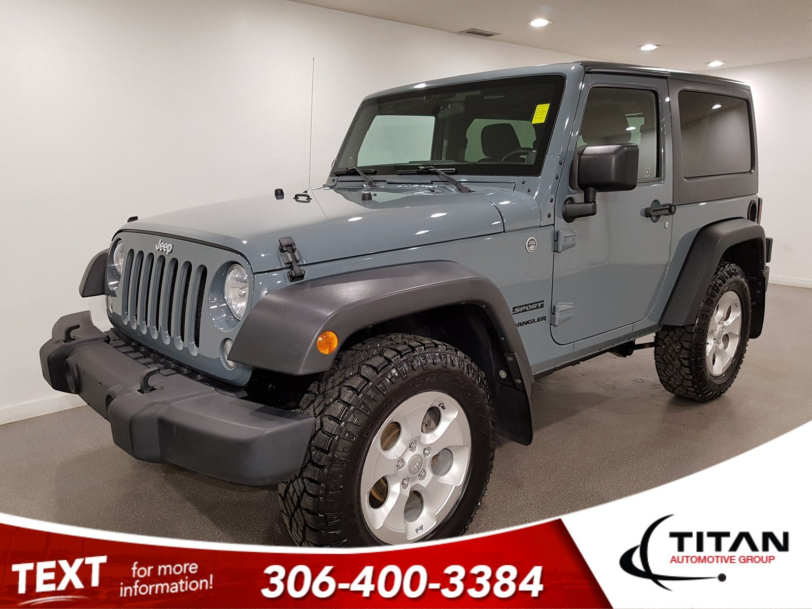 Pre-Owned 2014 Jeep Wrangler Sport | Local
