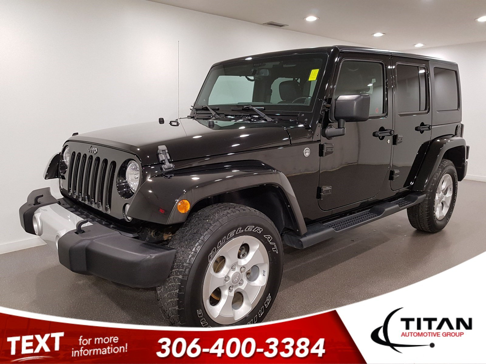 Pre-Owned 2014 Jeep Wrangler Unlimited Sahara | Leather
