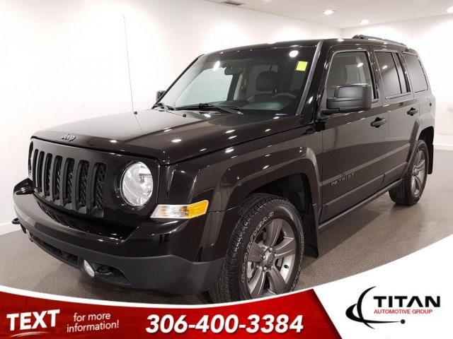 Pre-Owned 2017 Jeep Patriot Sport Altitude II 4x4 Alloys