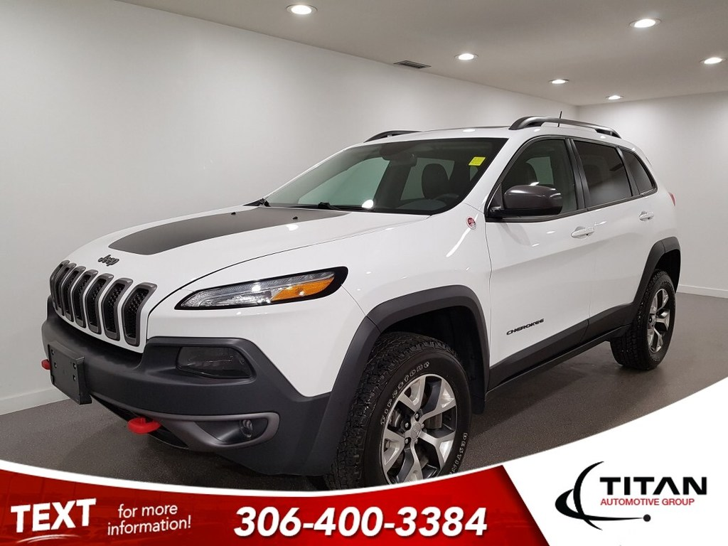 Pre-Owned 2016 Jeep Cherokee Trailhawk V6 4x4 CAM NAV Alloys