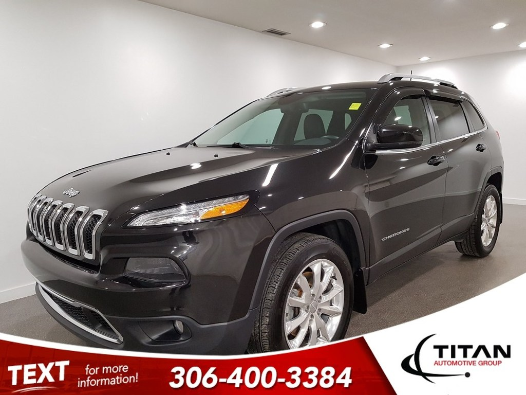 Pre Owned 2016 Jeep Cherokee Limited V6 4x4 Cam Leather Nav