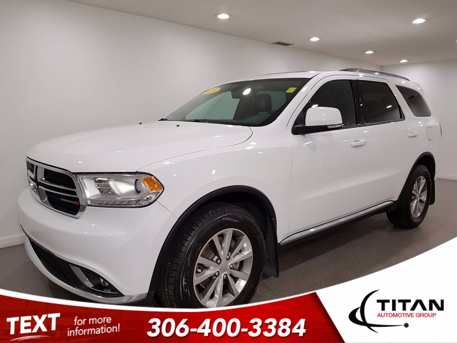 Pre-Owned 2015 Dodge Durango Limited AWD | Leather | Sunroof | Remote Start