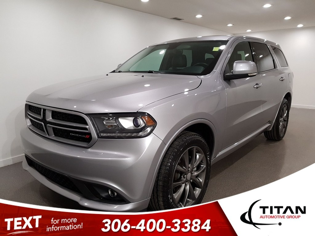 Pre-Owned 2017 Dodge Durango GT V6 AWD CAM Leather Htd Seats