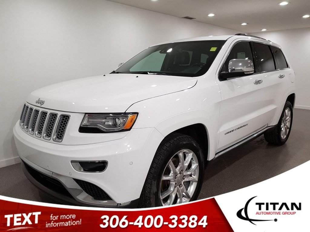 Pre-Owned 2015 Jeep Grand Cherokee Summit V6 4x4 CAM NAV Leather PanoSunroof AirSuspension