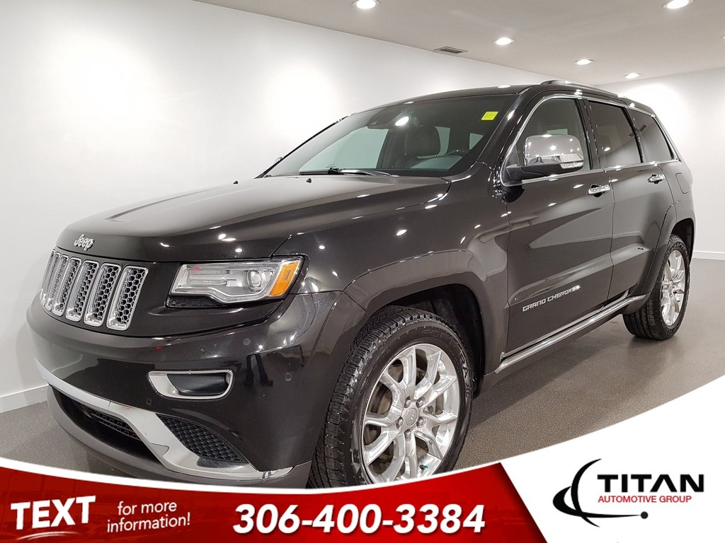 Pre Owned 2014 Jeep Grand Cherokee Summit 4x4 CAM NAV Leather Eco Diesel