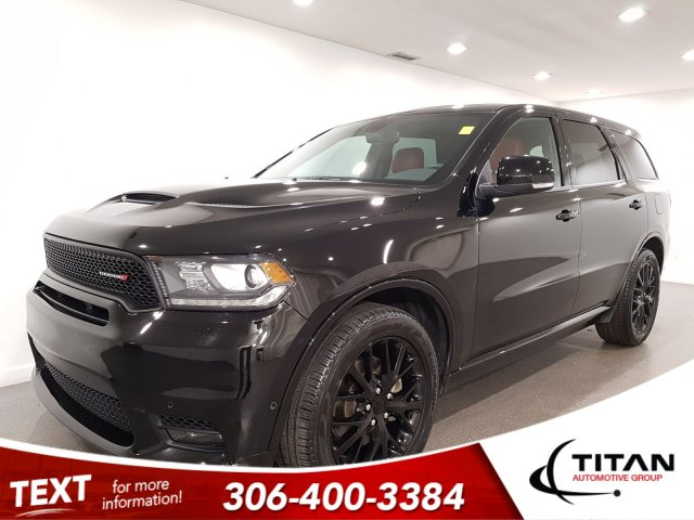 Pre-Owned 2019 Dodge Durango R/T HEMI AWD CAM NAV Htd Leather
