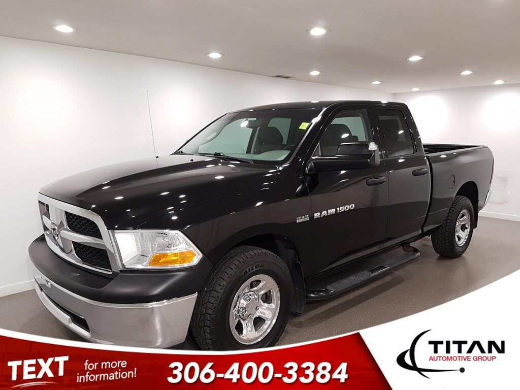 Pre-Owned 2012 Ram 1500 V8 4x4 Bluetooth Htd Mirrors