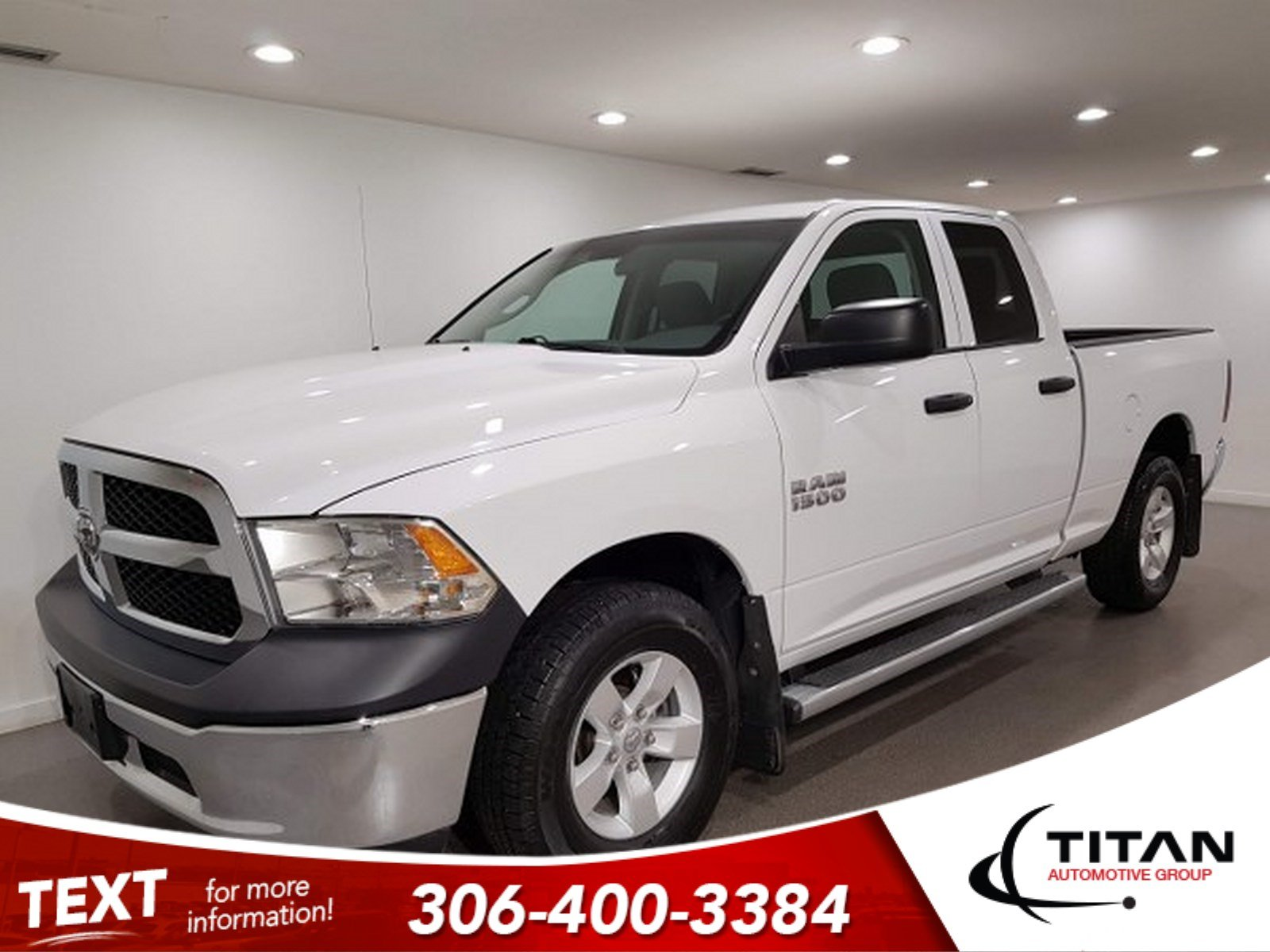 Pre-Owned 2014 Ram 1500 V6|4x4|Htd Mirrors|Rims|6 Pass