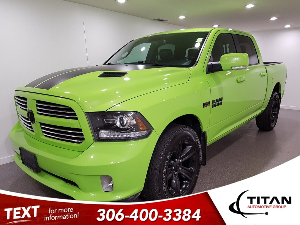 Pre-Owned 2017 Ram 1500 Sport Sublime V8 Alpine NAV Htd Seats 20 Rims