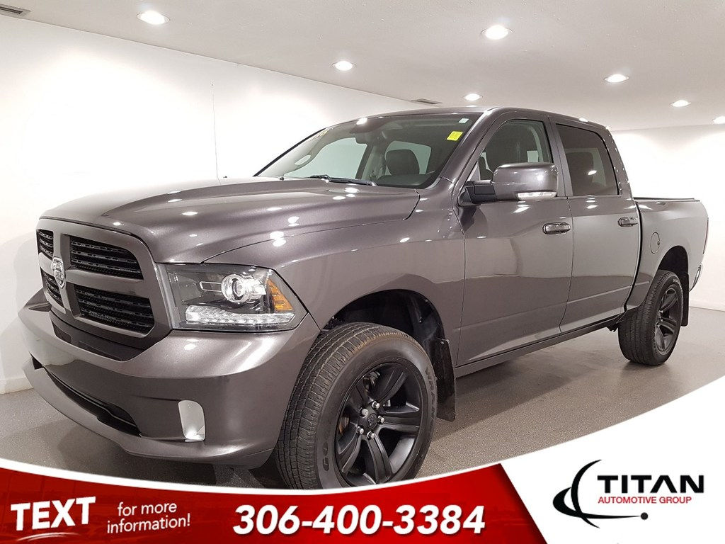 Pre-Owned 2016 Ram 1500 4x4 CAM Leather Bluetooth