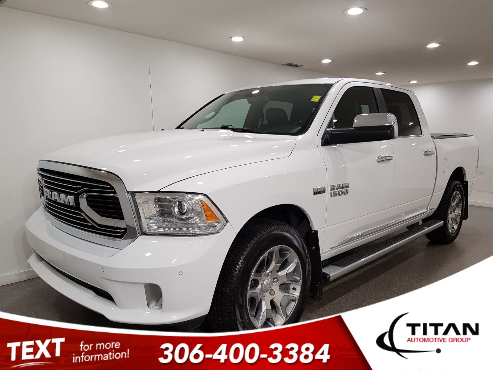 Pre-Owned 2017 Ram 1500 Limited|Laramie|V8|4x4|CAM|NAV|Leather