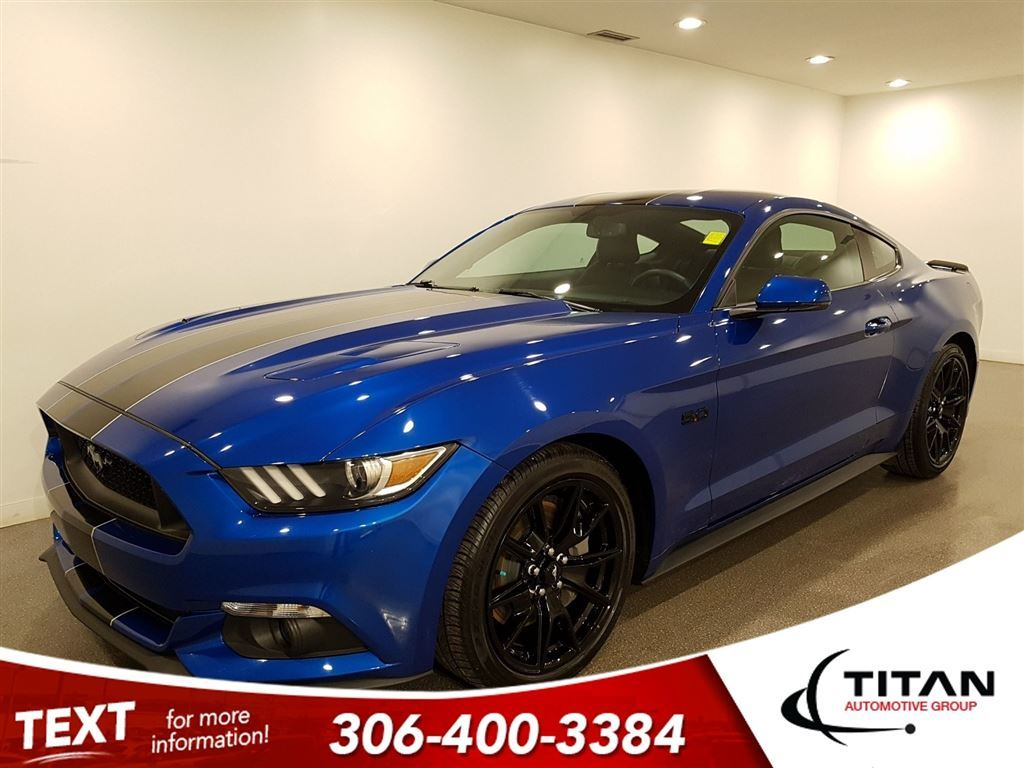 Pre Owned 2017 Ford Mustang Fastback Gt 5 0l Leather Roush Exhaust Sunroof Nav