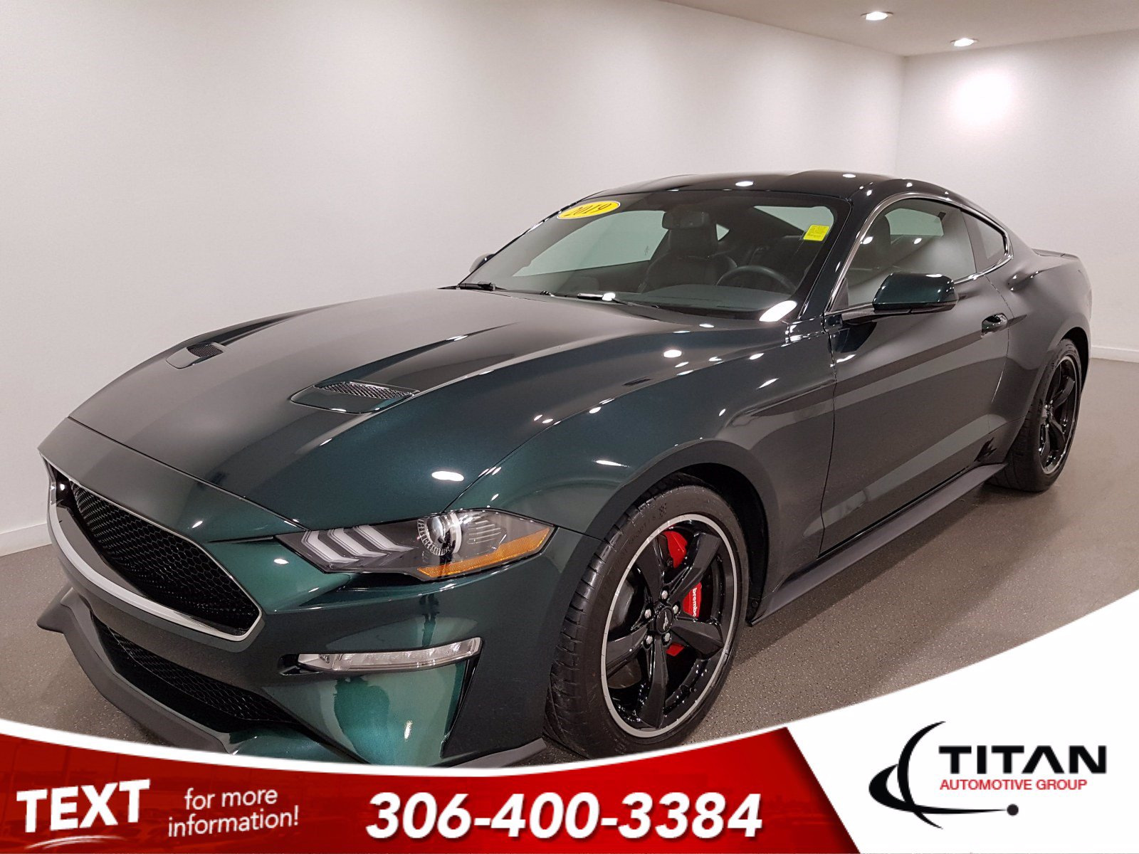 Pre-Owned 2019 Ford Mustang BULLITT V8 | Leather | Navigation | K7176