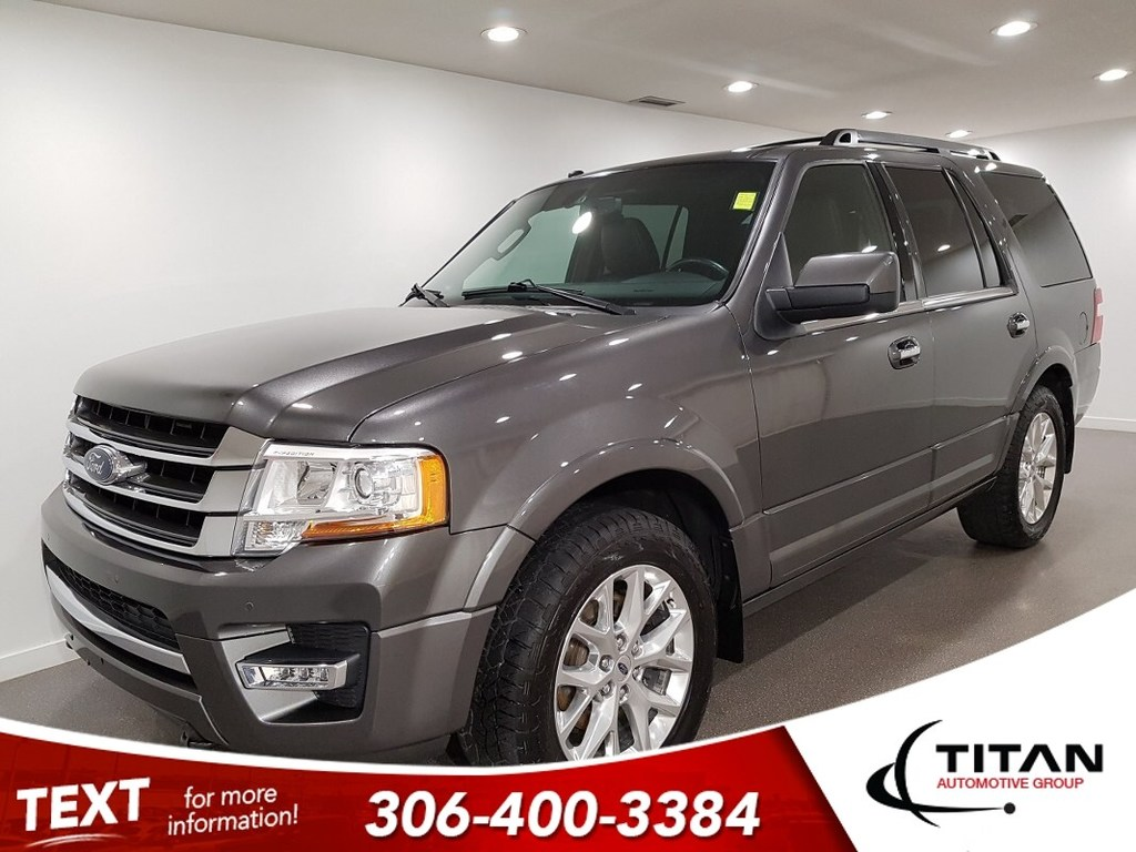Pre-Owned 2017 Ford Expedition Local Limited 4x4 8Pass CAM NAV