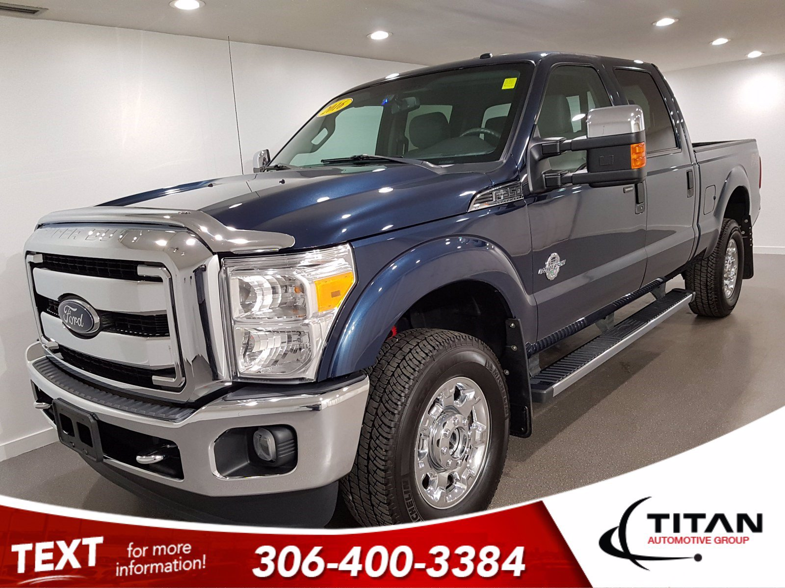 Pre-Owned 2016 Ford Super Duty F-350 SRW XLT | 4x4 | Diesel | V8 | CAM | Alloys