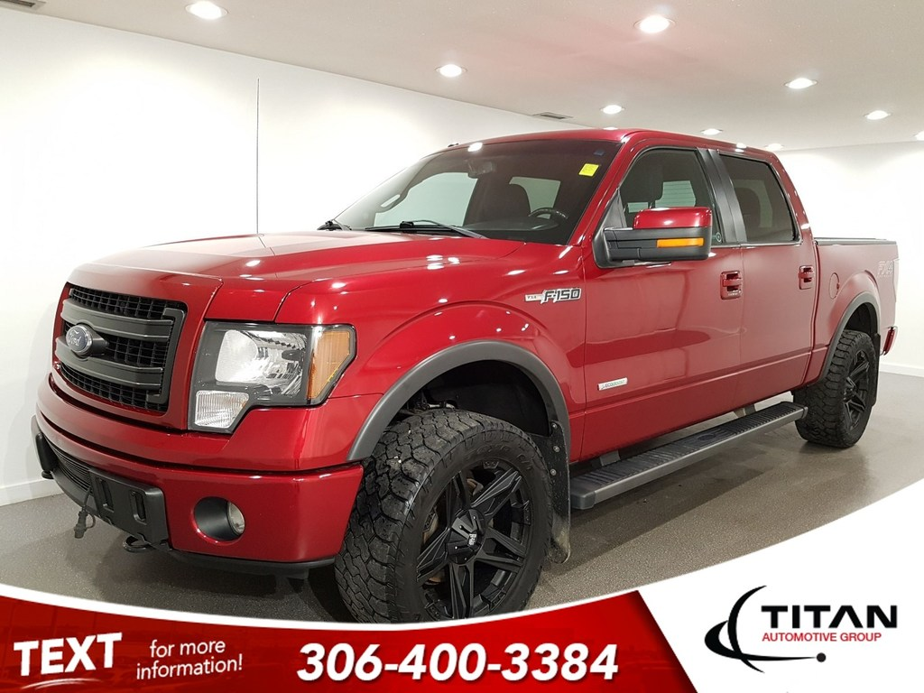 Pre-Owned 2013 Ford F-150 FX4 4x4 CAM Bluetooth