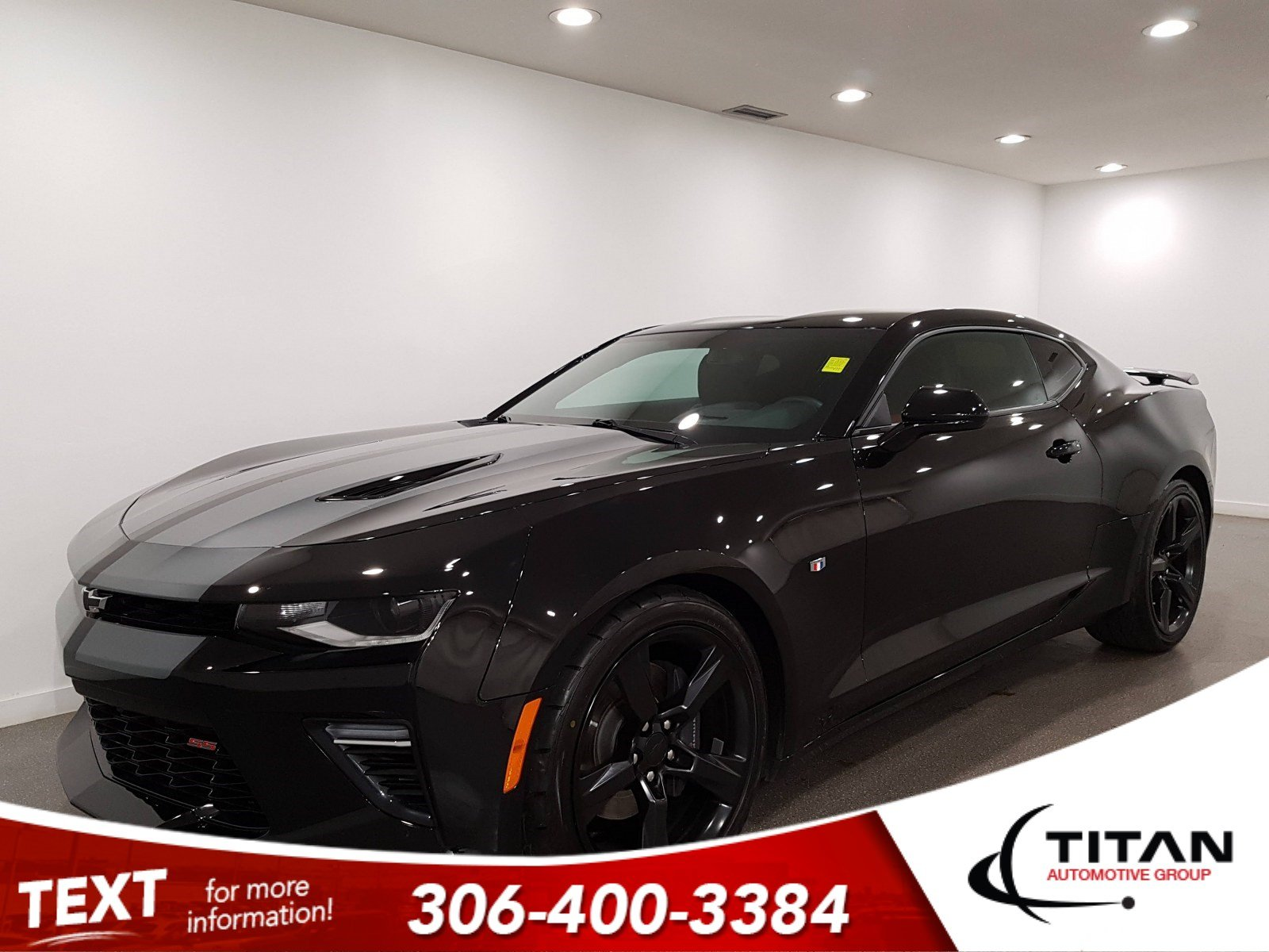Pre-Owned 2016 Chevrolet Camaro 2SS|6.2L|Red/Black Leather|Bose|Brembo|HID