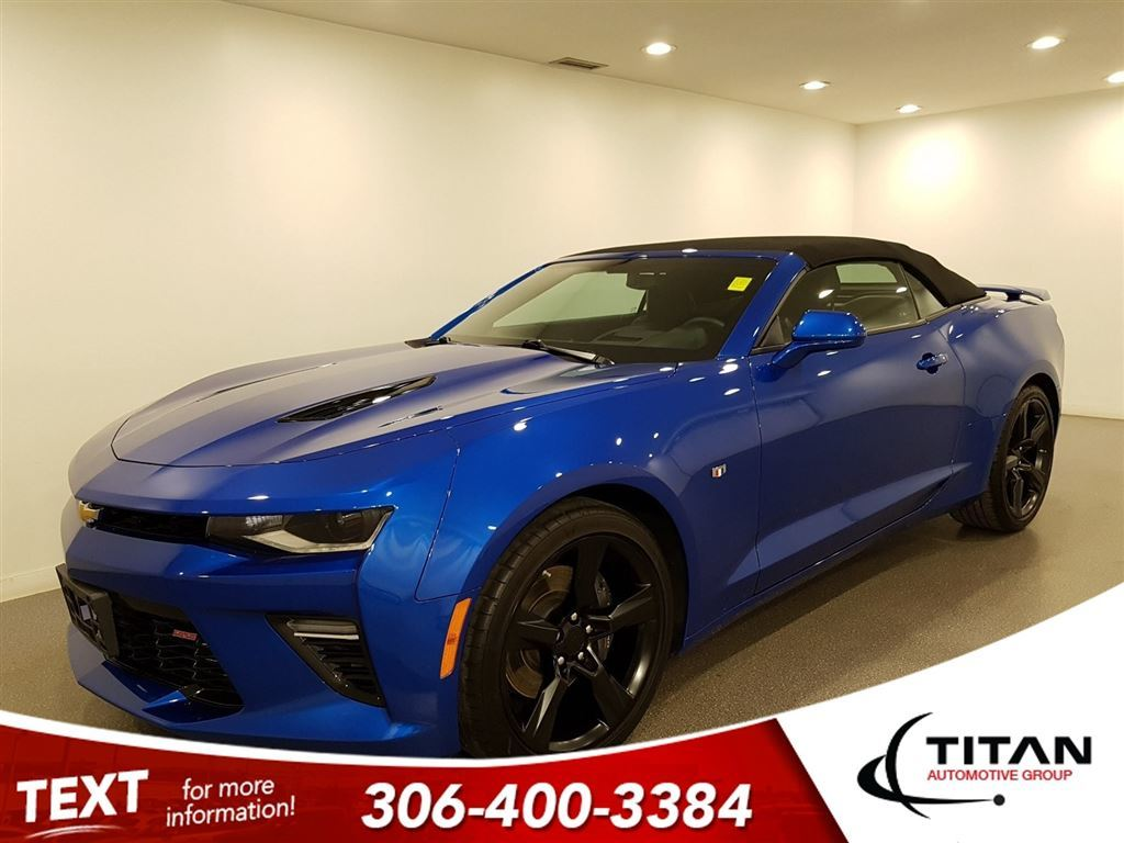 pre owned 2017 chevrolet camaro 2ss convertible hyper blue 455hp