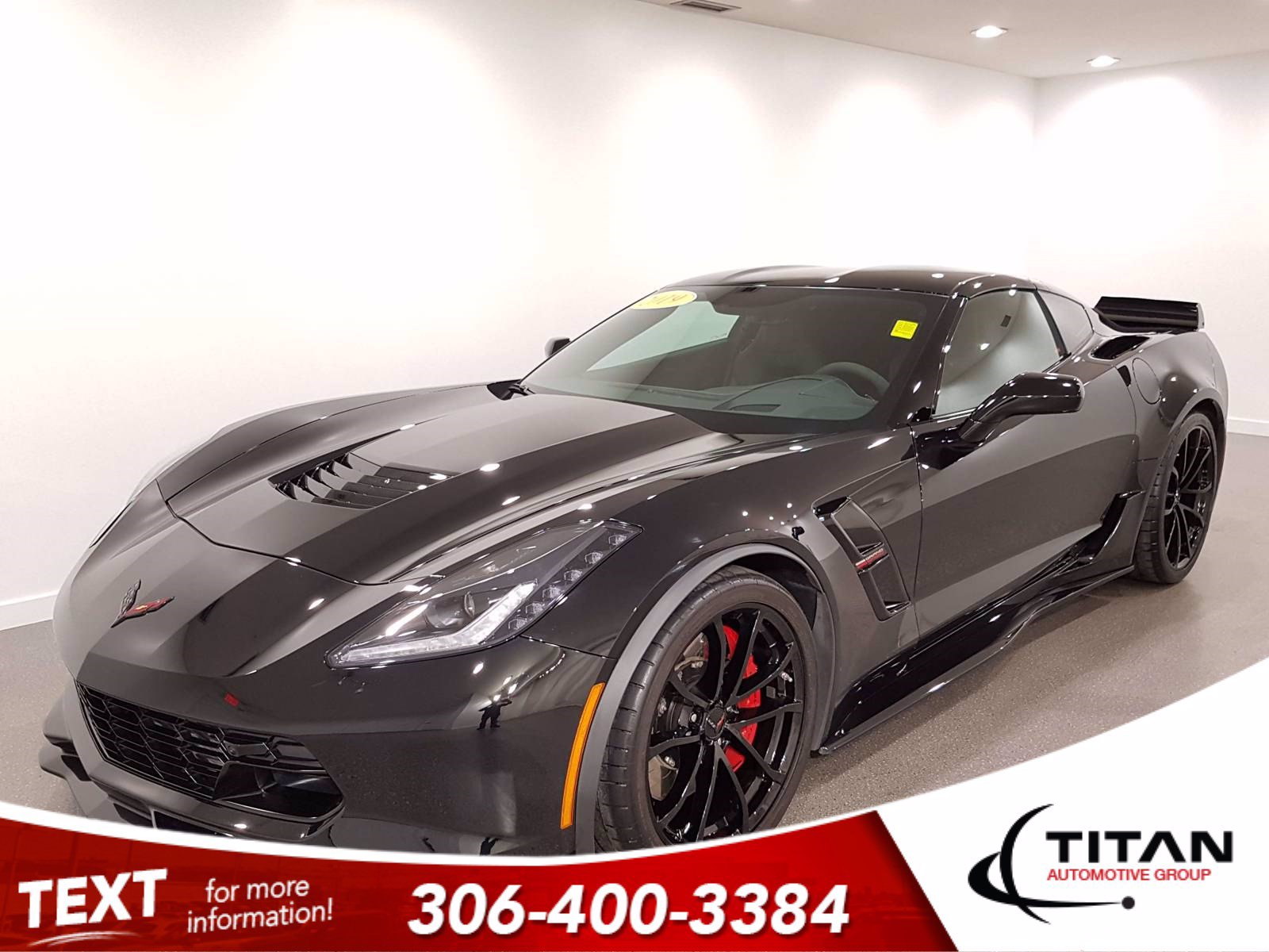 Pre-Owned 2019 Chevrolet Corvette Grand Sport | V8 | CAM | NAV | Alloys