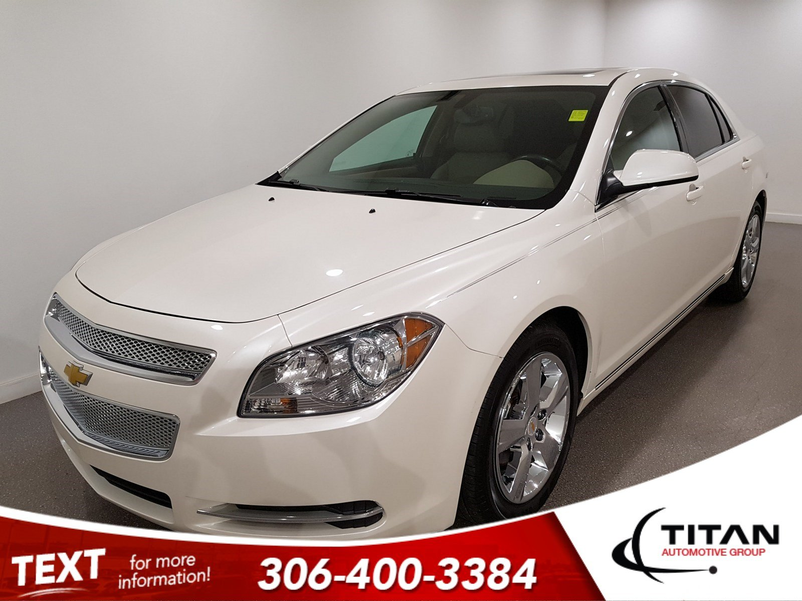 Pre-Owned 2011 Chevrolet Malibu LT Platinum Edition | Leather | Sunroof | Remote Start