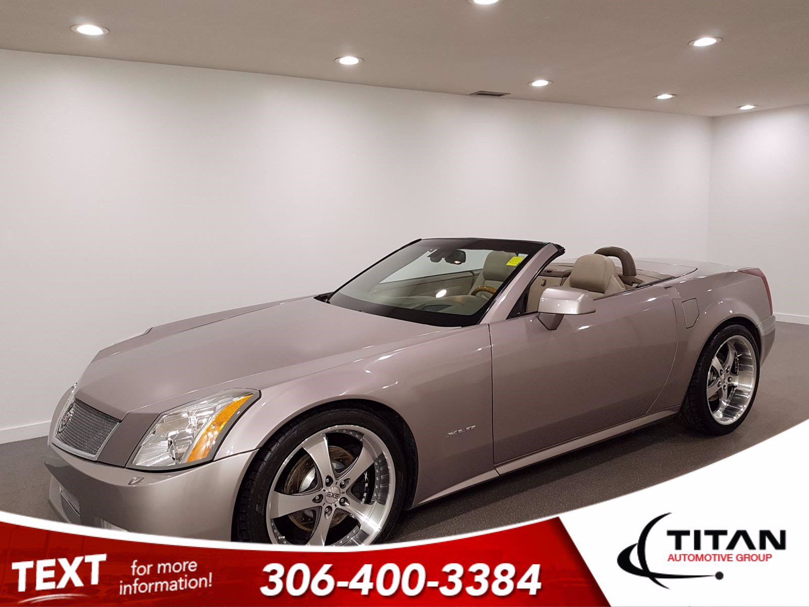 Pre-Owned 2005 Cadillac XLR Local | 4.6L V8 320HP| Convertible | Leather | Navigation | Bose | Rare