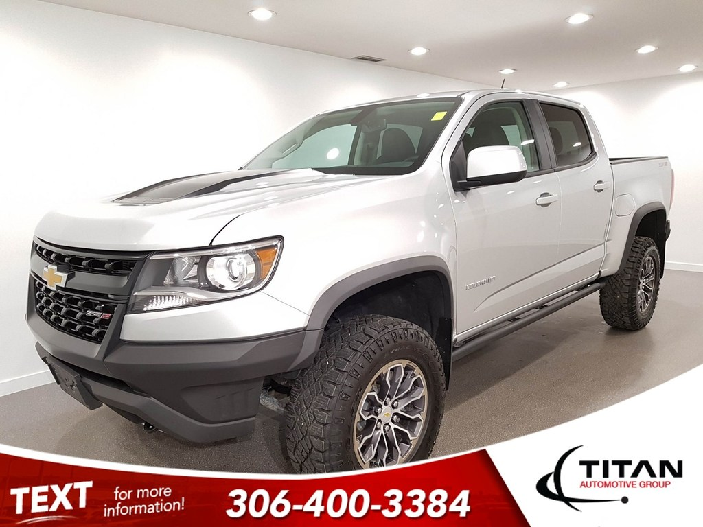 Pre-Owned 2018 Chevrolet Colorado ZR2 4X4 CAM NAV Leather HTD Seats