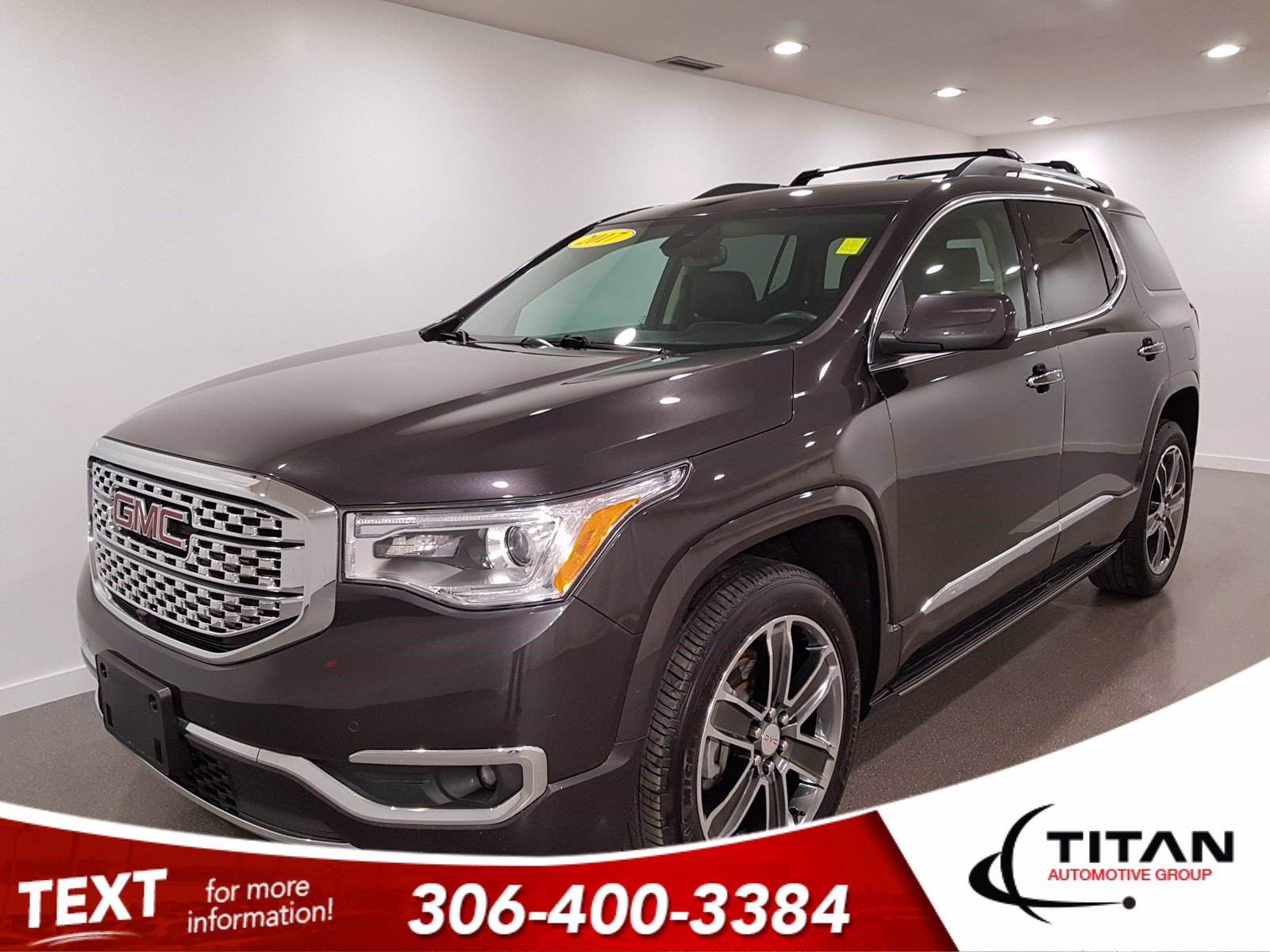Pre-Owned 2017 GMC Acadia Denali | AWD | V6 | CAM | NAV | 7 Pass | Bose | Nav Heated/Cooled Leather