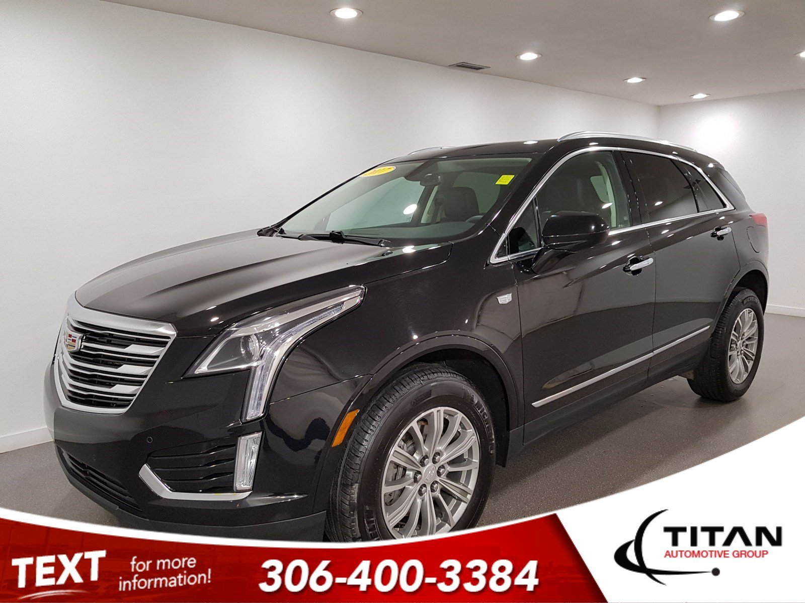 Pre-Owned 2017 Cadillac XT5 Luxury|AWD|V6|Leather|CAM|NAV|Rims