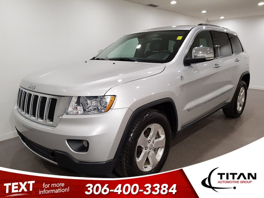 Pre-Owned 2011 Jeep Grand Cherokee 4x4 CAM NAV Leather Alloys