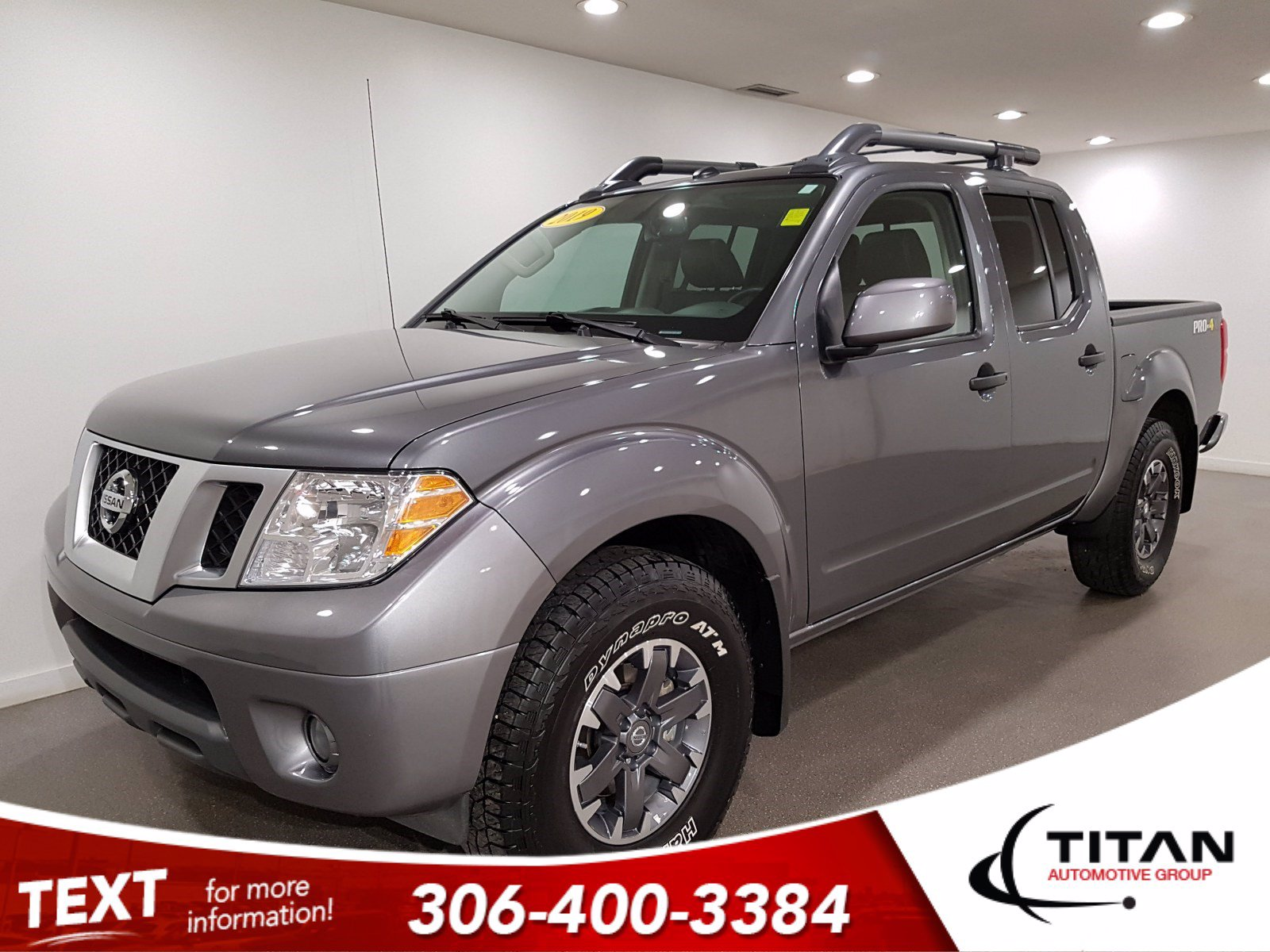 Pre-Owned 2019 Nissan Frontier PRO-4X Crew Cab V6 | Leather | Sunroof | Navigation