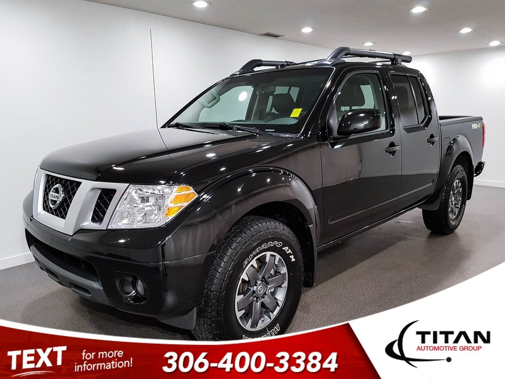 Pre-Owned 2018 Nissan Frontier Pro 4X 4X4 V6 CAM Leather NAV Htd Seats