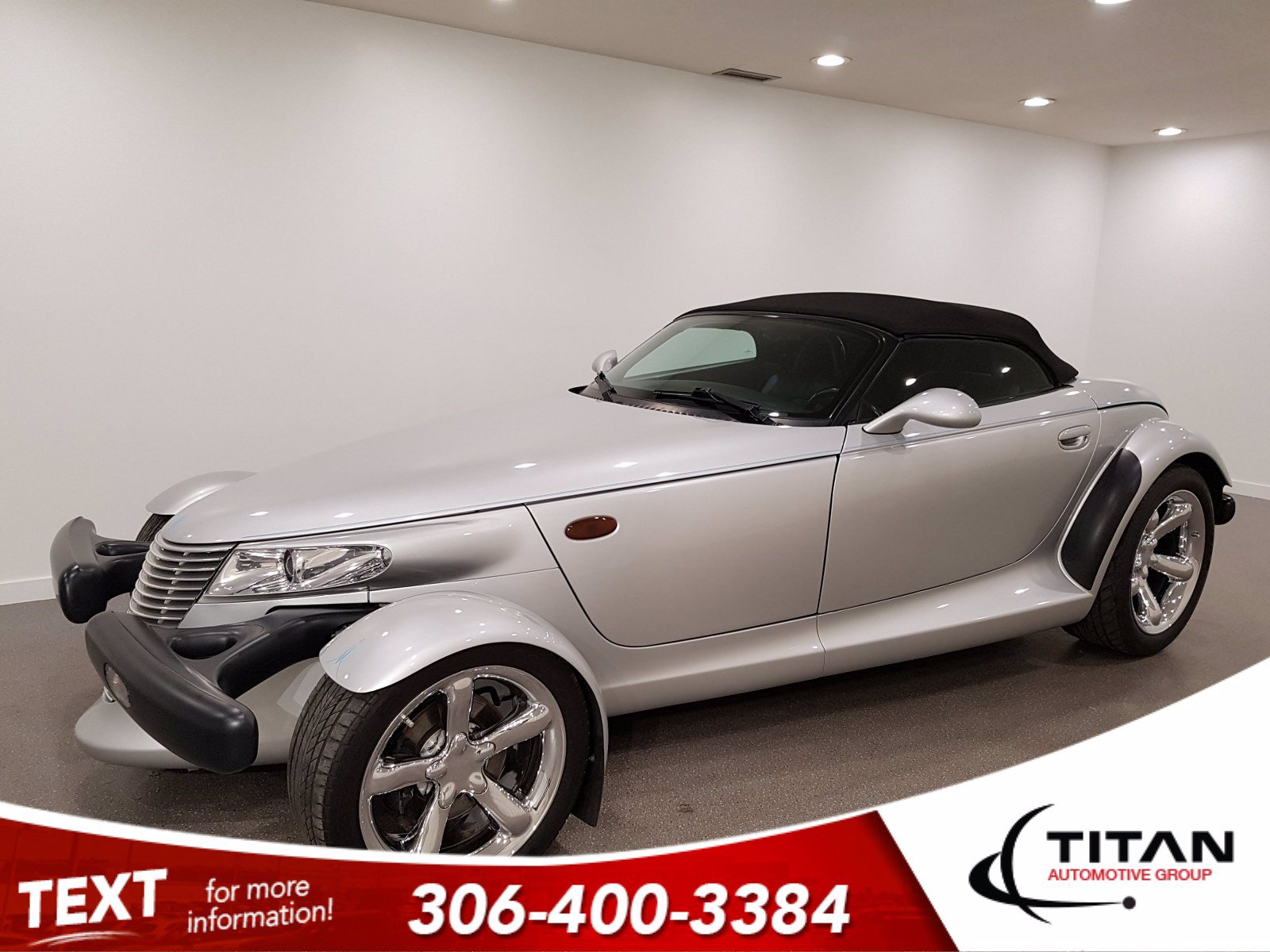 Pre-Owned 2000 Plymouth Prowler 3.5 L V6 253HP | Convertible | Hot Rod | Bright Silver Metallic | Rare