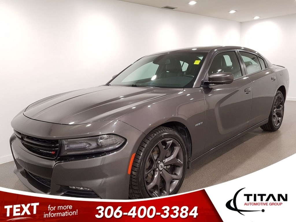 Pre-Owned 2017 Dodge Charger R/T Plus Hemi 370HP Htd/Cld Leather Sunroof Local