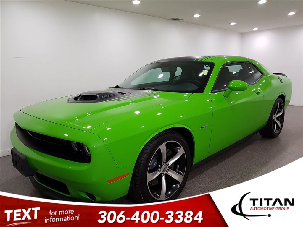 pre owned 2017 dodge challenger r t shaker 5 7l hemi manual sunroof
