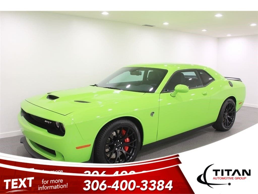 Pre-Owned 2015 Dodge Challenger SRT Hellcat 707hp | Navigation