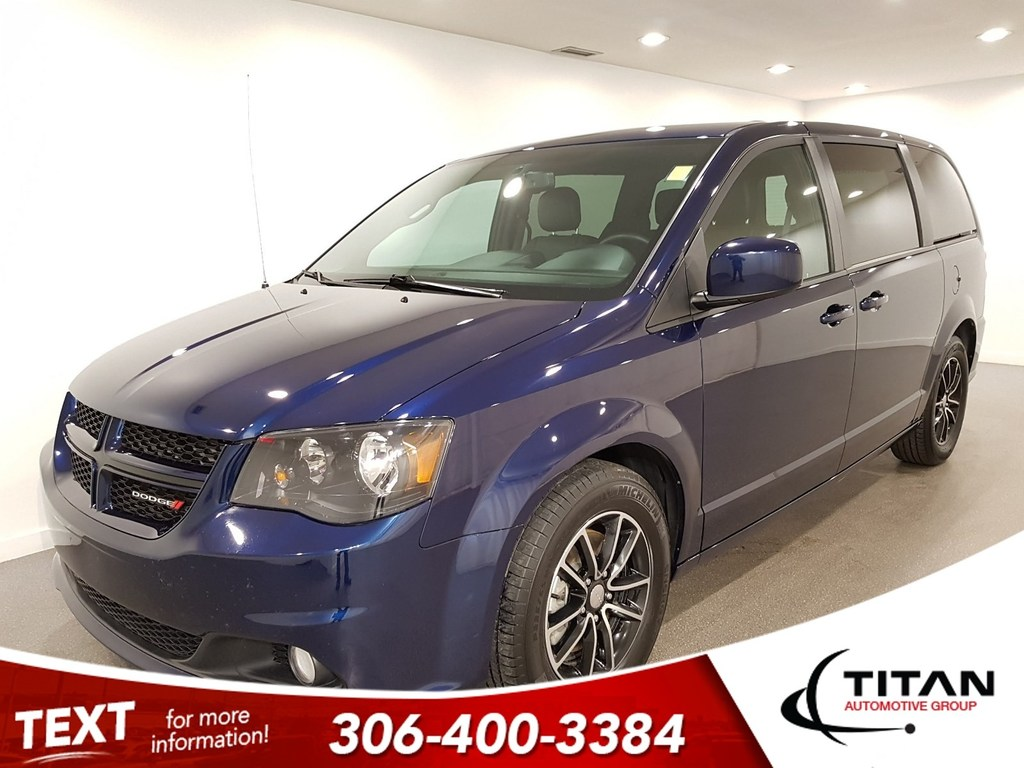 Pre Owned 2017 Dodge Grand Caravan Gt V6 Cam Leather Alloys Htd