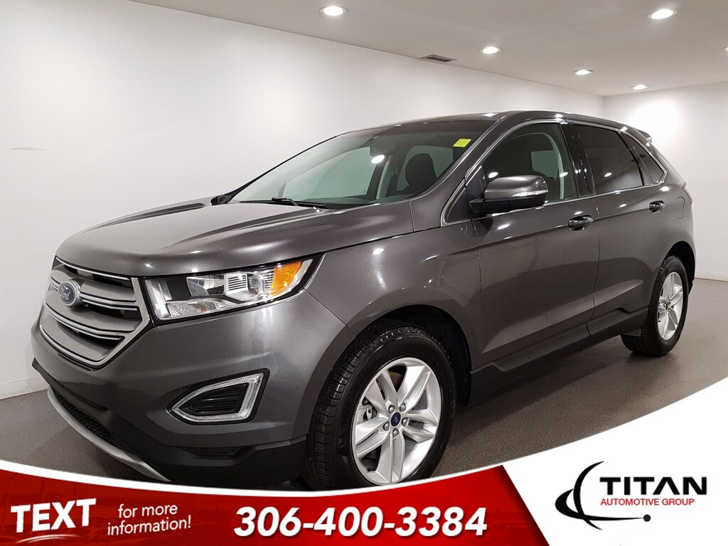 Pre-Owned 2017 Ford Edge SEL V6 AWD CAM Htd Seats Alloys