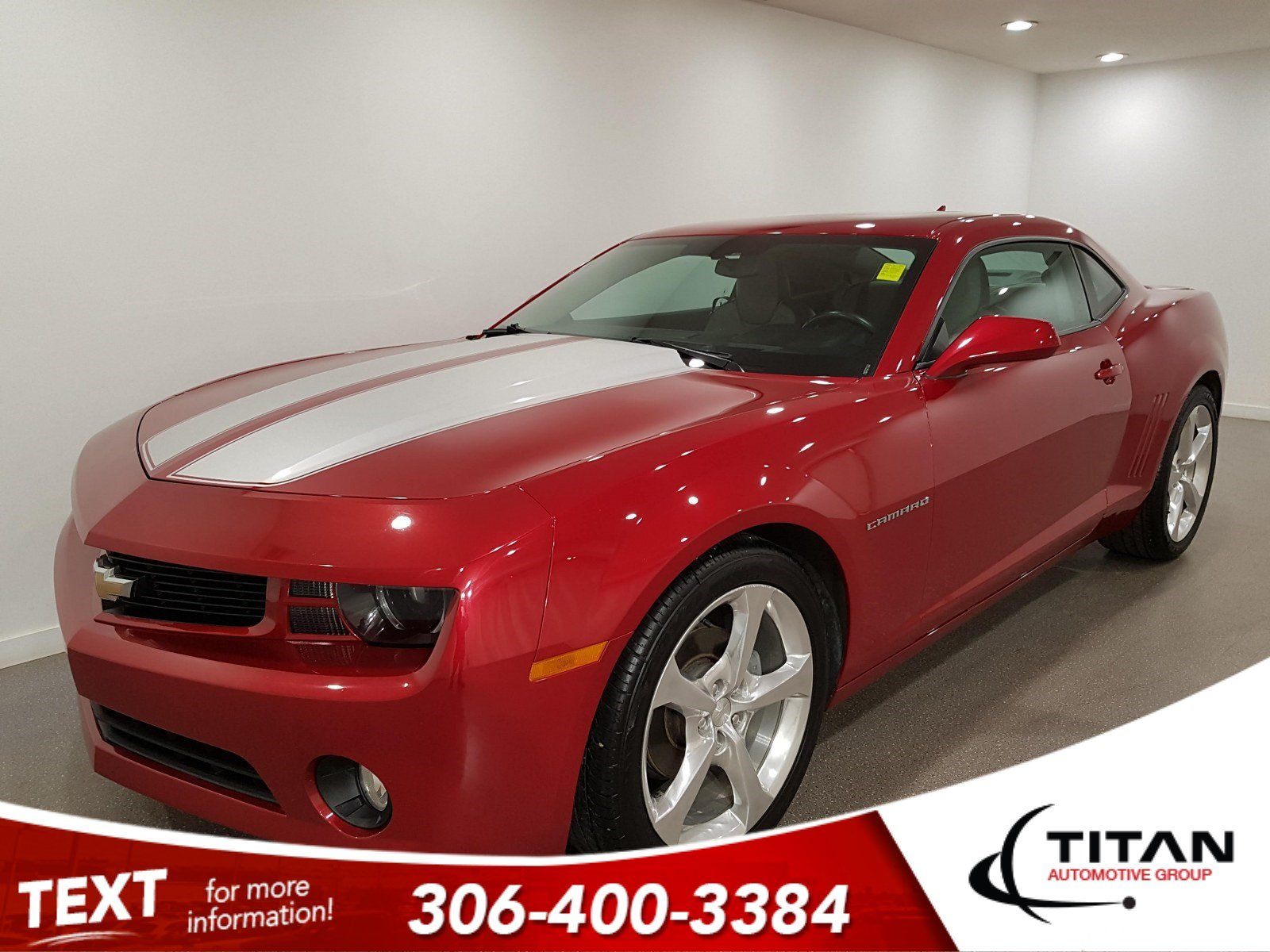 Pre-Owned 2013 Chevrolet Camaro RS V6 | Leather | Sunroof | Remote Start