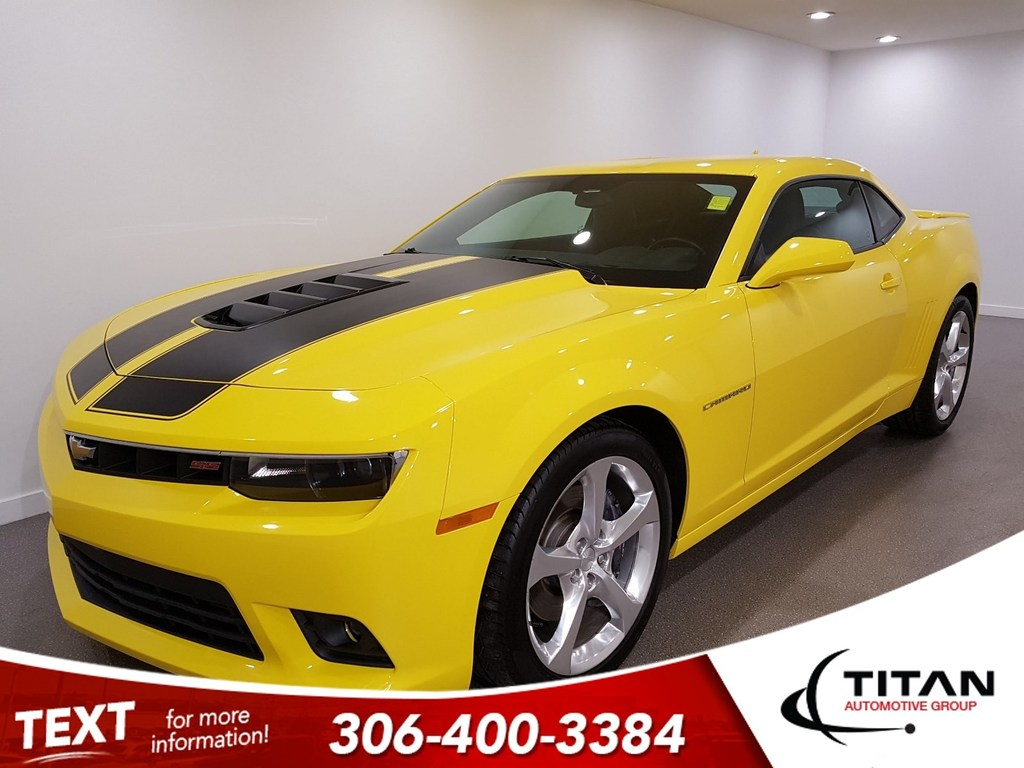 Pre-Owned 2014 Chevrolet Camaro Local CAM Leather Htd Seats Alloys