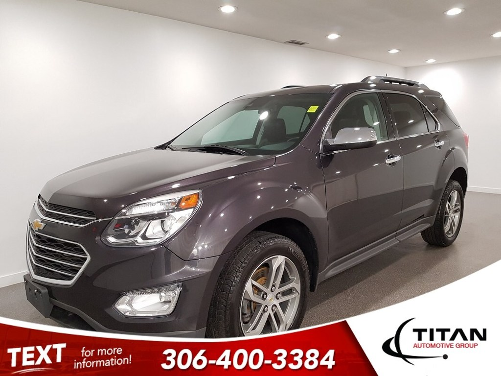Pre-Owned 2016 Chevrolet Equinox LTZ AWD CAM NAV Htd Seats Leather