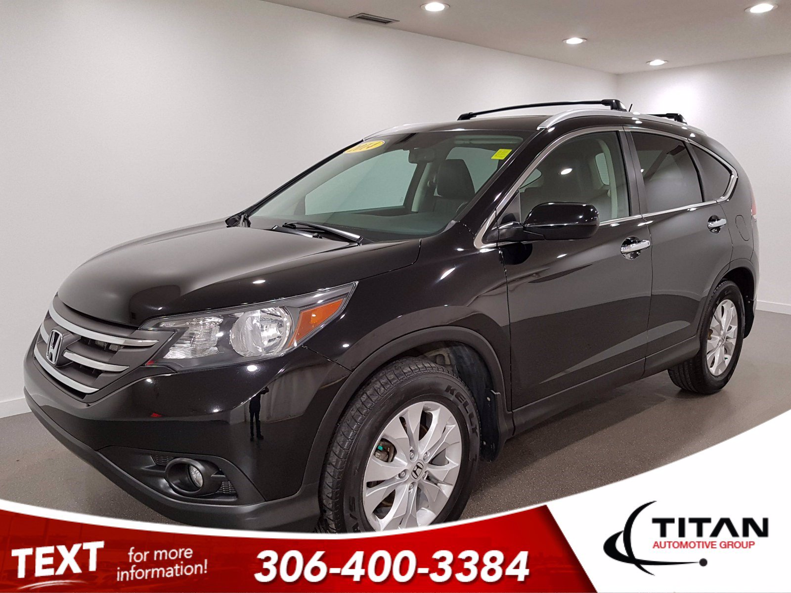Pre-Owned 2014 Honda CR-V Touring | Local | AWD | CAM | NAV | Leather