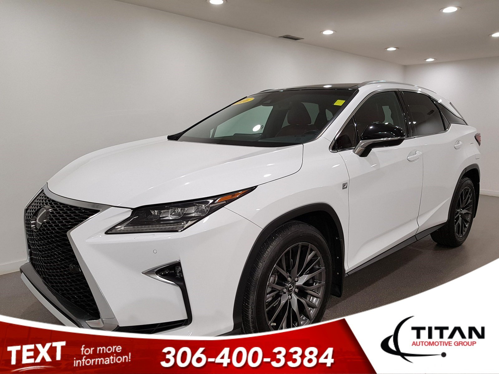 Pre-Owned 2016 Lexus RX 350 F-Sport AWD | Leather | Navigation | HUD